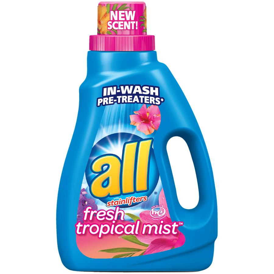 All Fresh Tropical Mist 33Ld Detergent