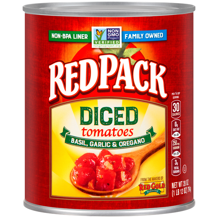 Redpack Diced Tomato