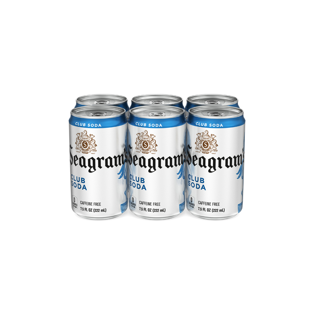 Seagrams's Club Soda Mini 6pk
