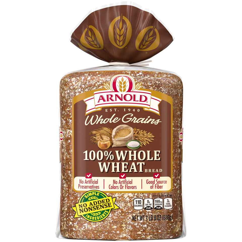 Arnold Whole Grains 100% Whole Wheat Bread