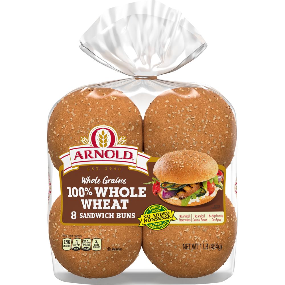 Arnold Select Wheat Sandwich Rolls
