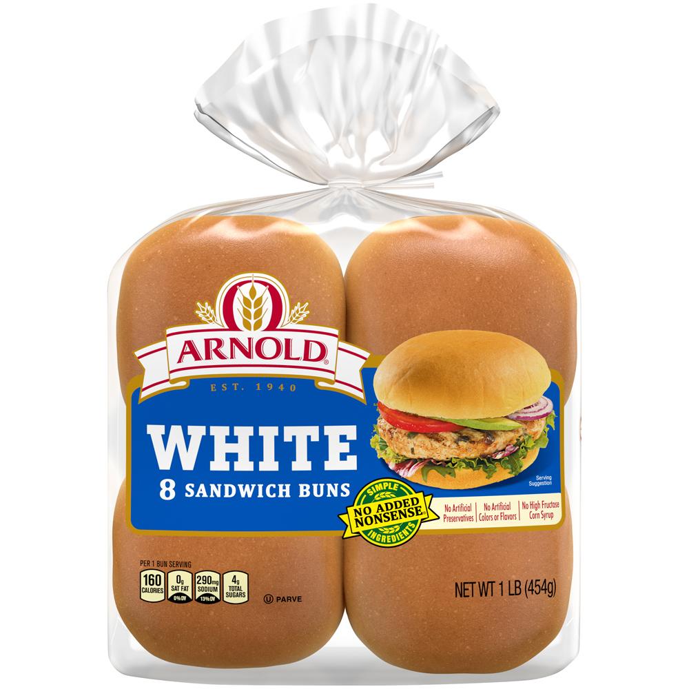 Arnold Hamburger Buns Original