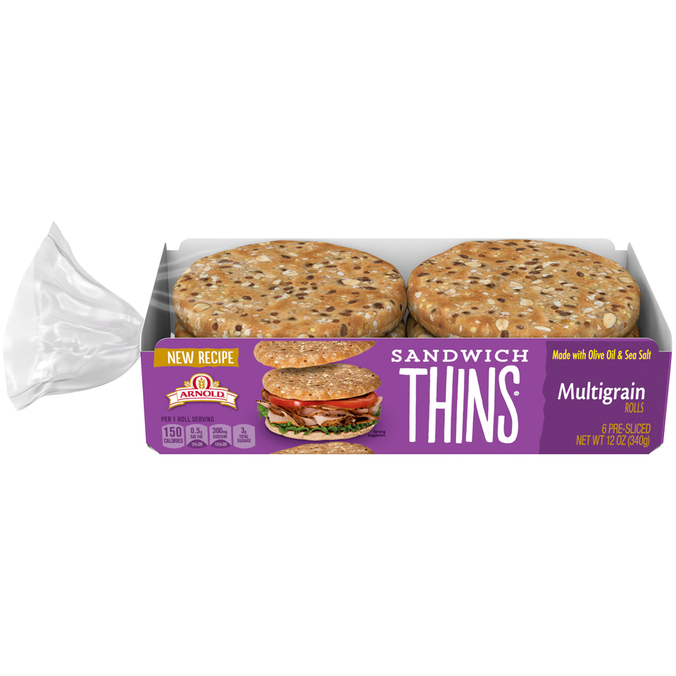 Arnold Multigrain Sandwich Thins