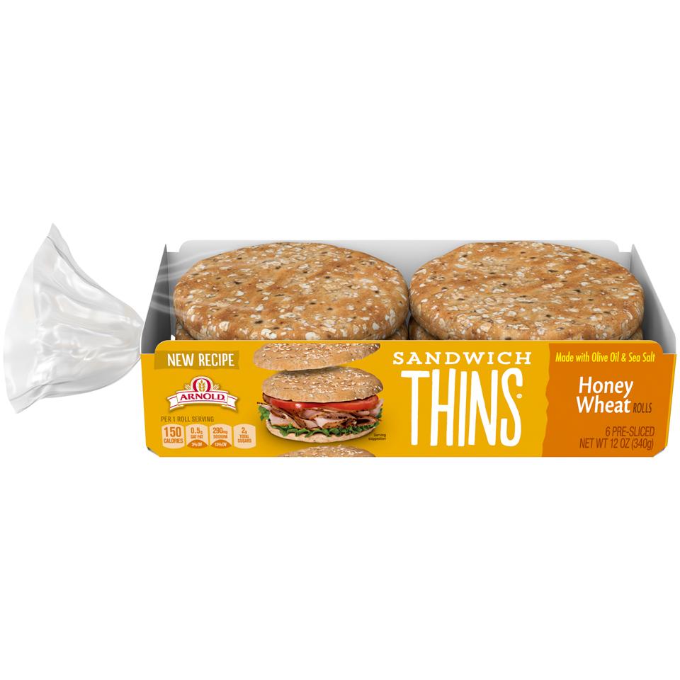 Arnold Honey Wheat Sandwich Thins