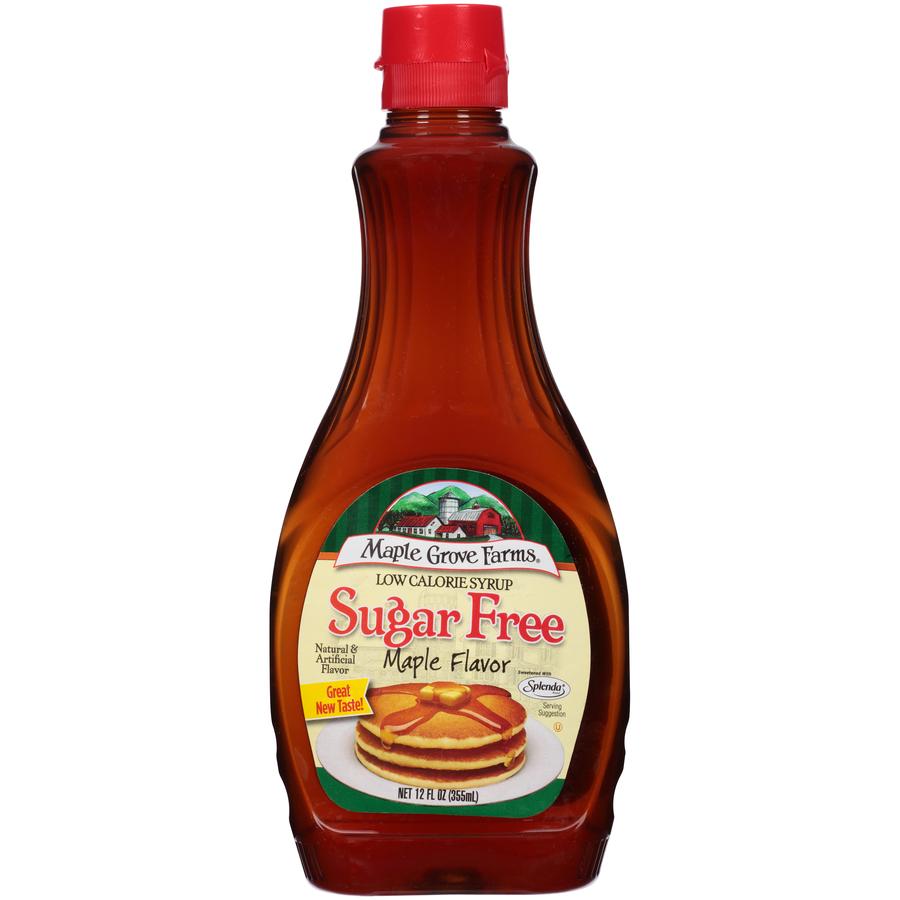 Maple Grove Farms Sugar Free Syrup