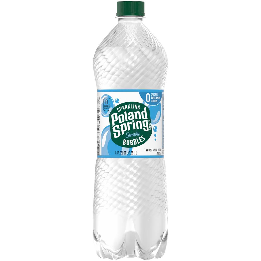 Poland Spring Sparkling Originak 1 liter