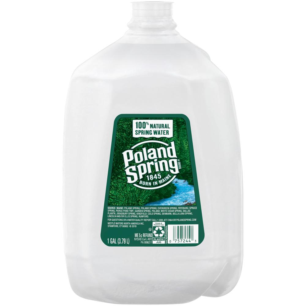 Poland Spring Water 1 gallon