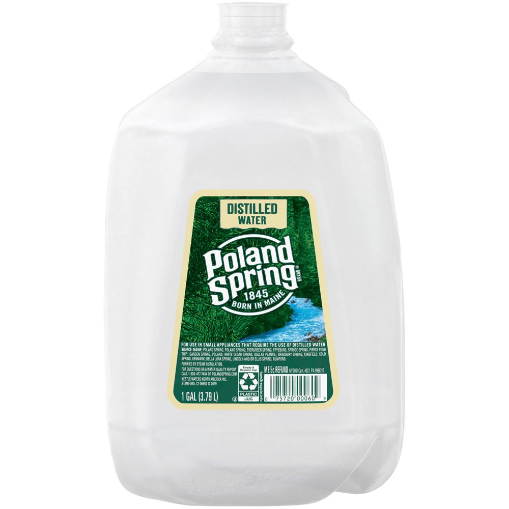 Poland Spring Distilled Water 1 gallon