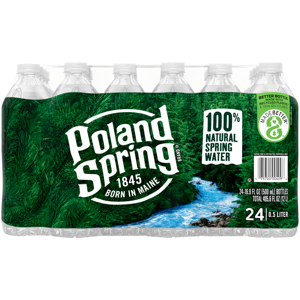 Poland Spring Water 24 pk-16.9 fl oz