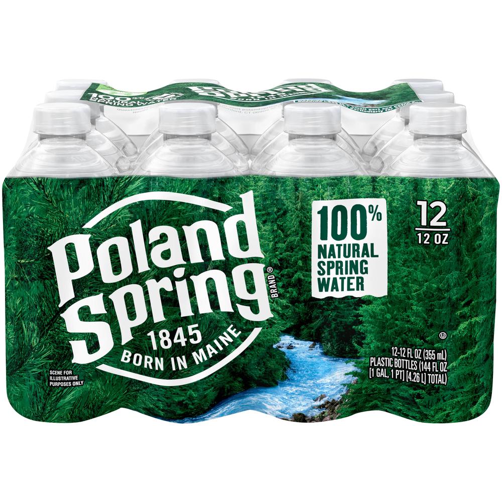 Poland Spring Water Go Size 24 pk-12 fl oz