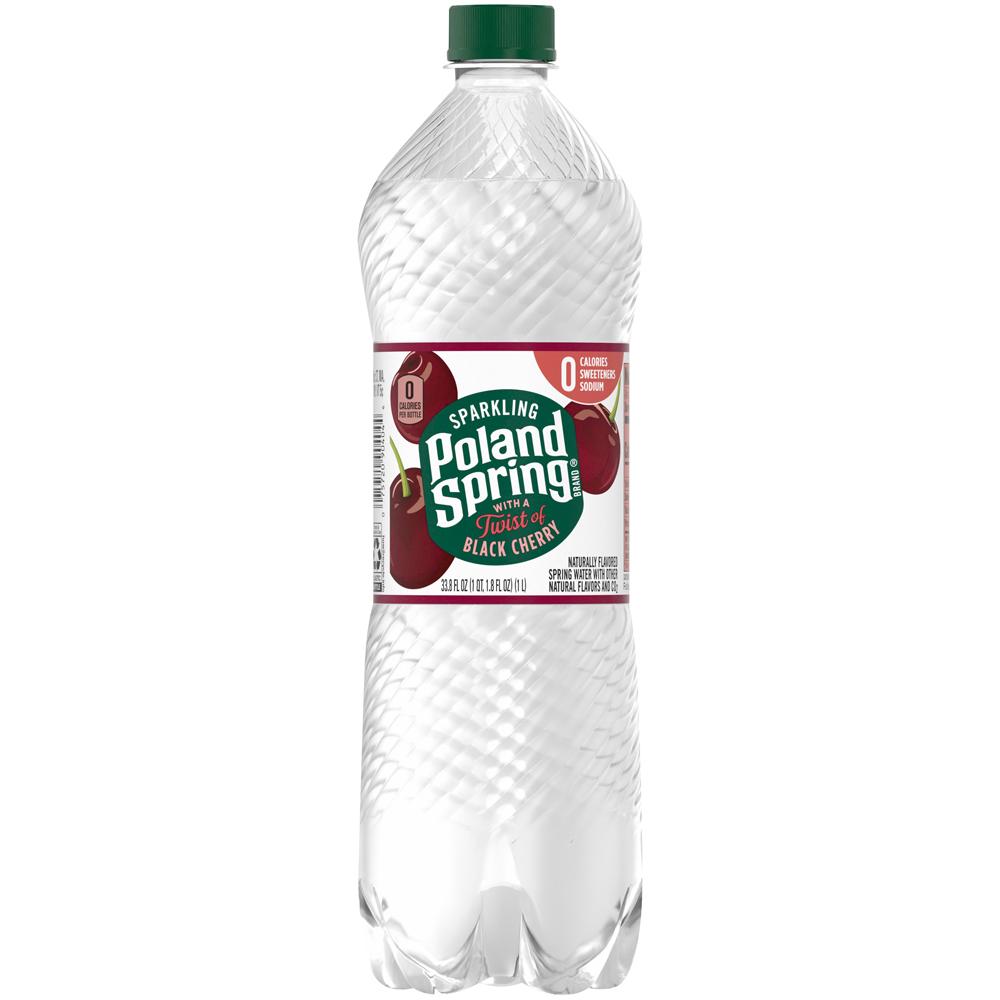 Poland Spring Sparkling Black Cherry 1 liter