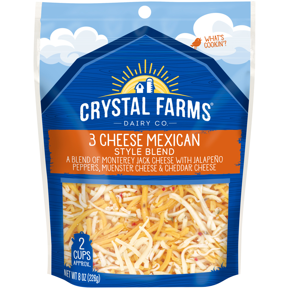 Mexican 3 Cheese Blend