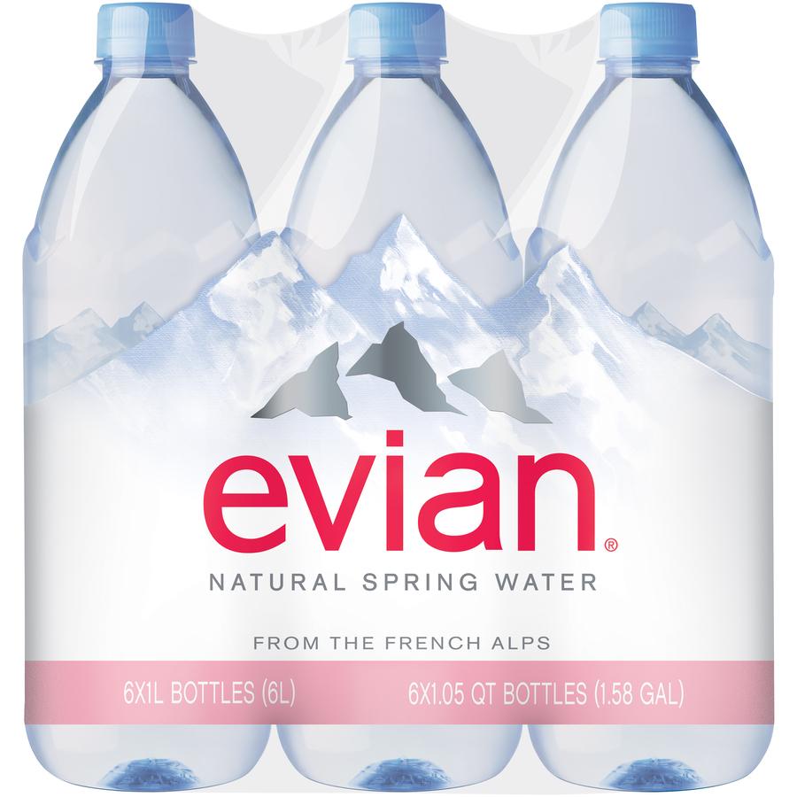 Evian Lg 6Pk