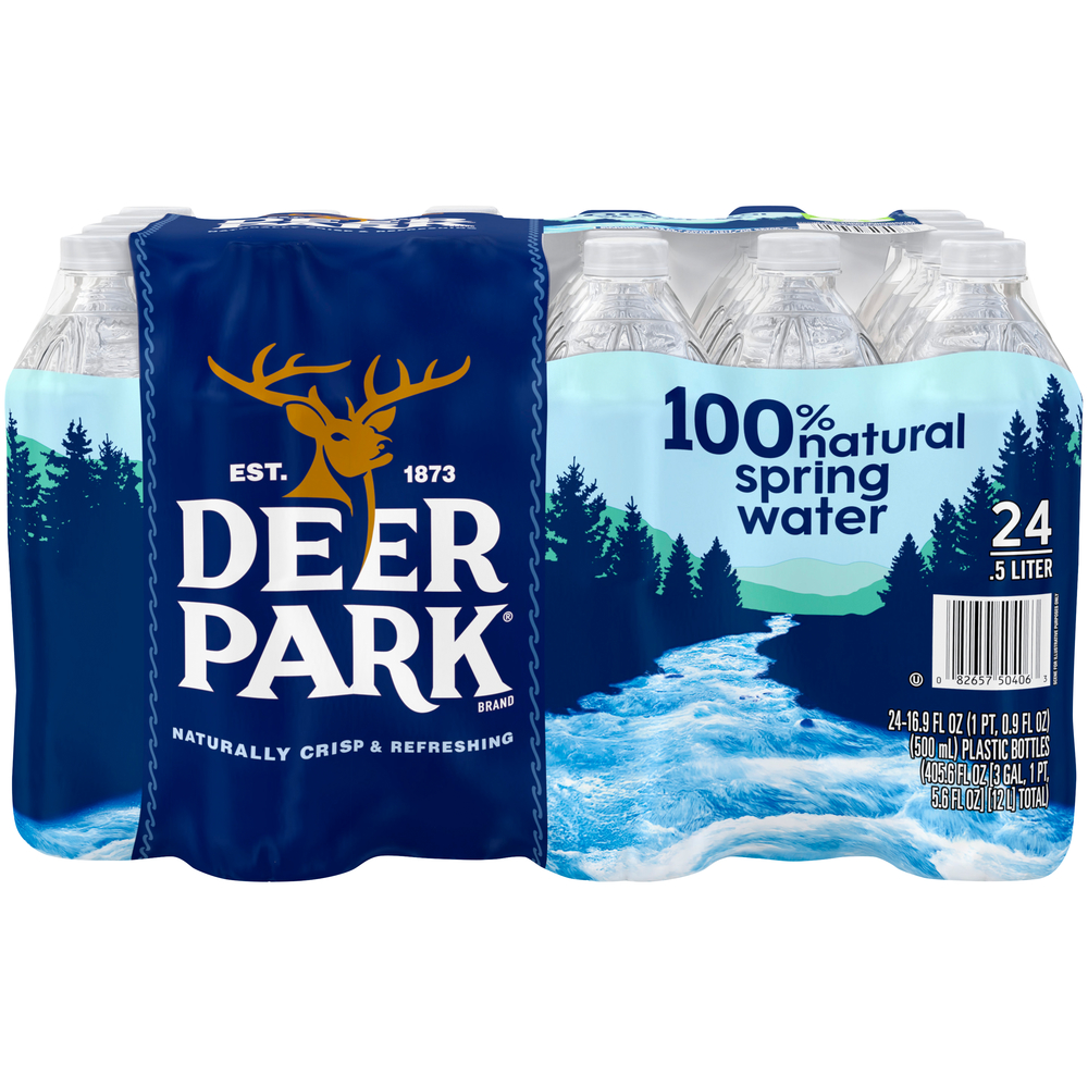 Deer Park Natural Spring Water 24pk-16.9 fl oz