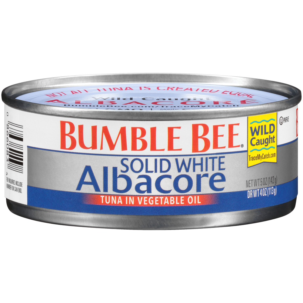 Bumble Bee Solid White Albacore In Oil