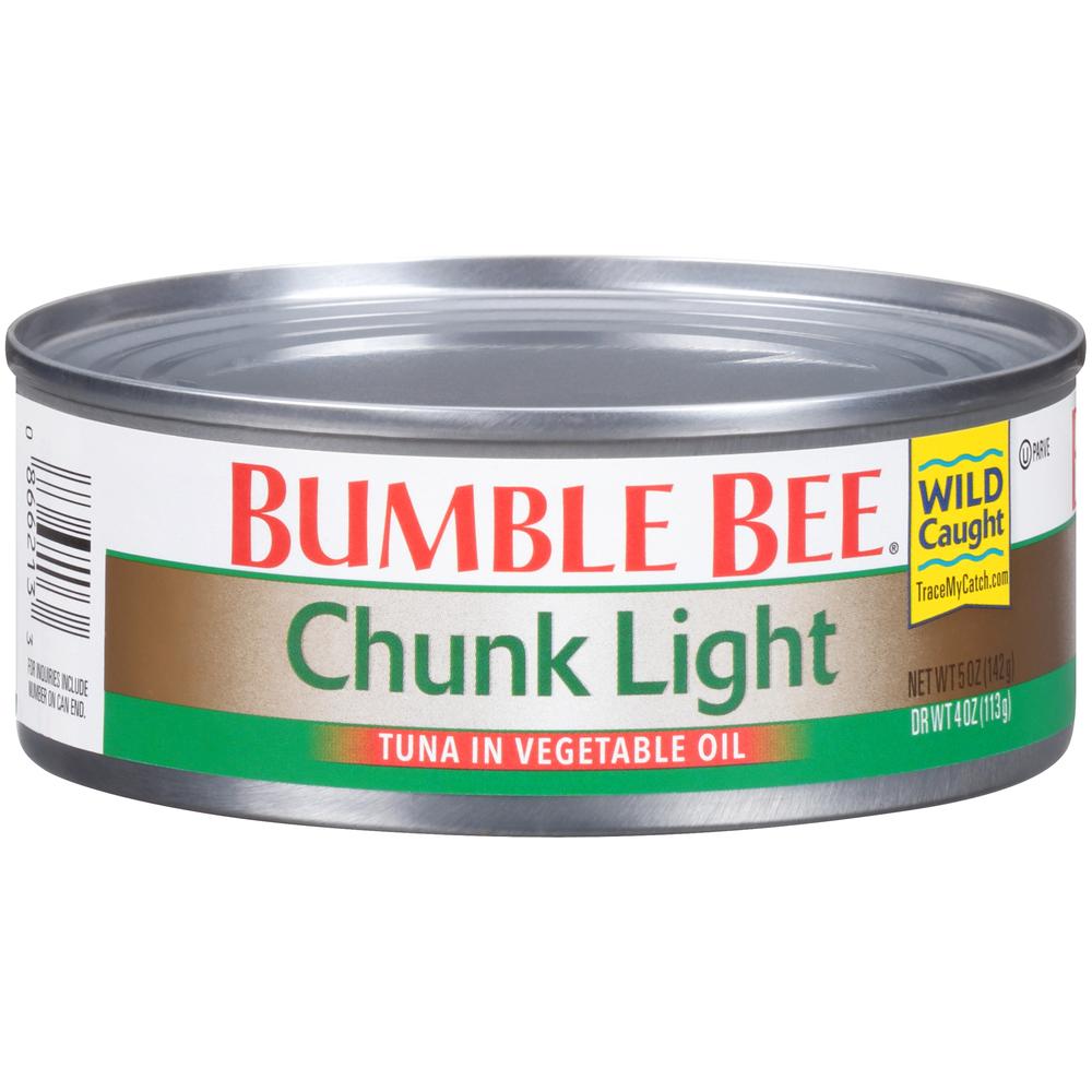 Bumble Bee Chunk Light Tuna In Oil