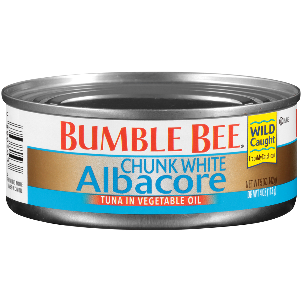 Bumble Bee Chunk White Albacore In Oil