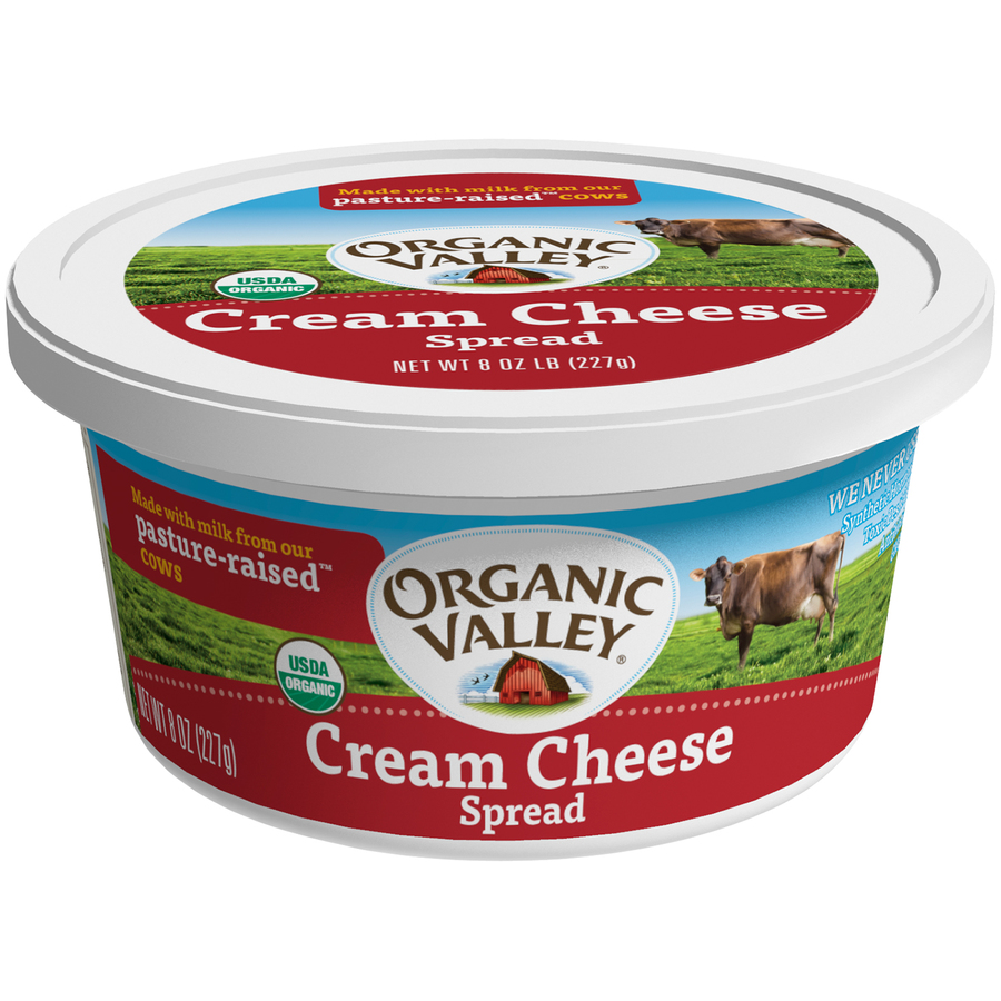 Organic Valley Cream Cheese Tub