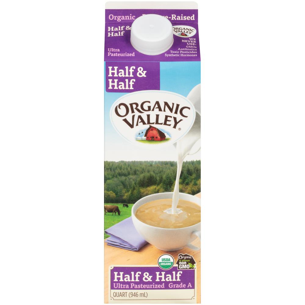 Organic Valley Half and Half