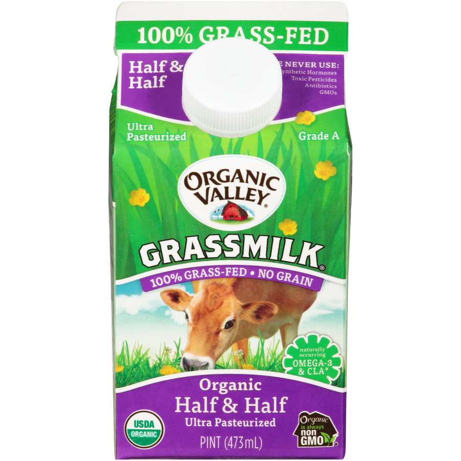 Organic Valley Grassmilk Half and Half
