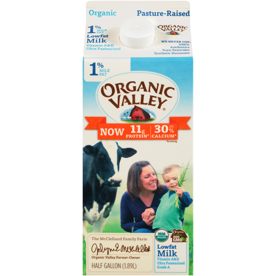 Organic Valley 1% Milk