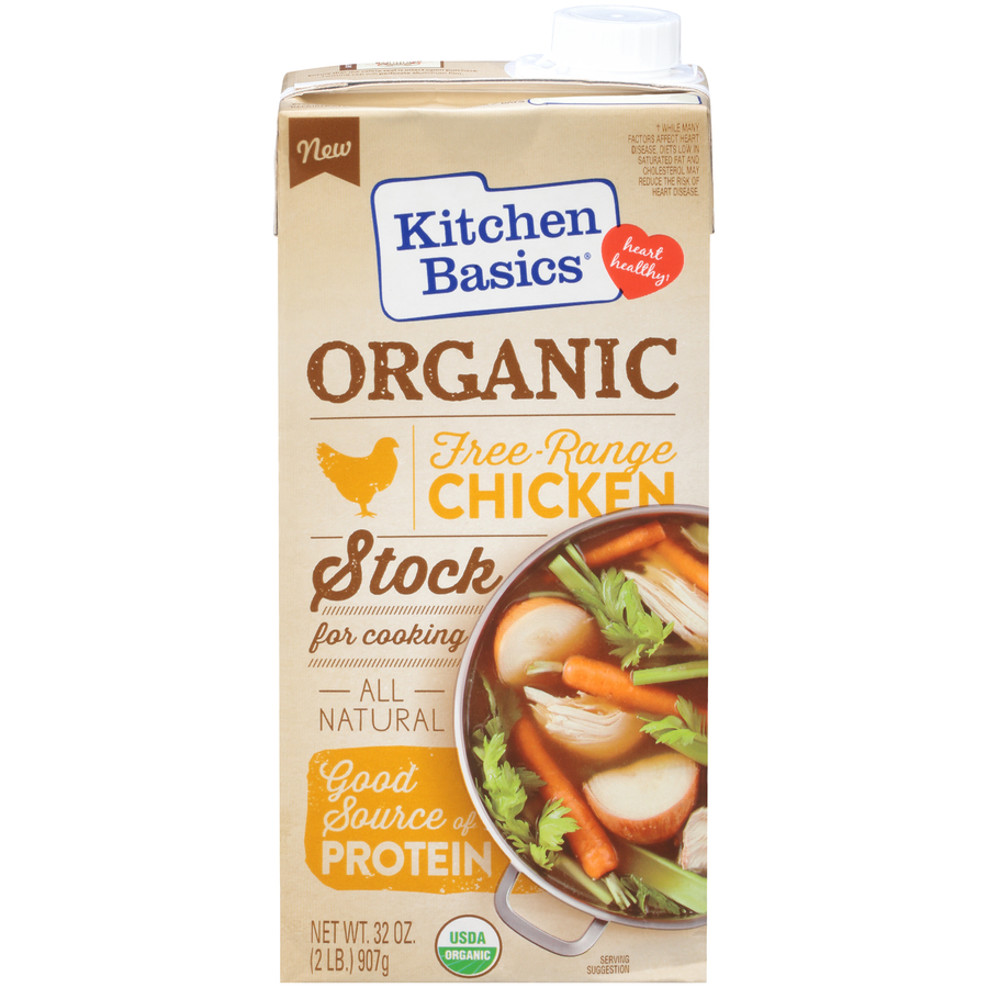 Kitchen Basics Organic Chicken Stock