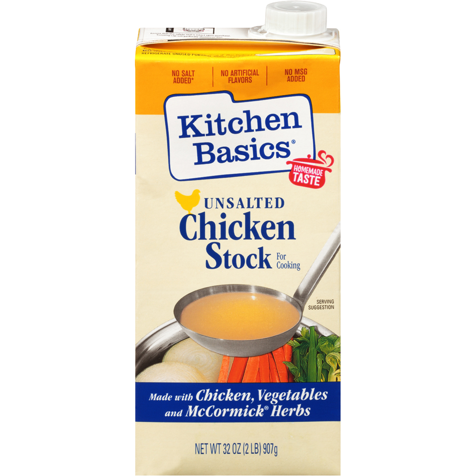 Kitchen Basics Chicken Stock Unsalted
