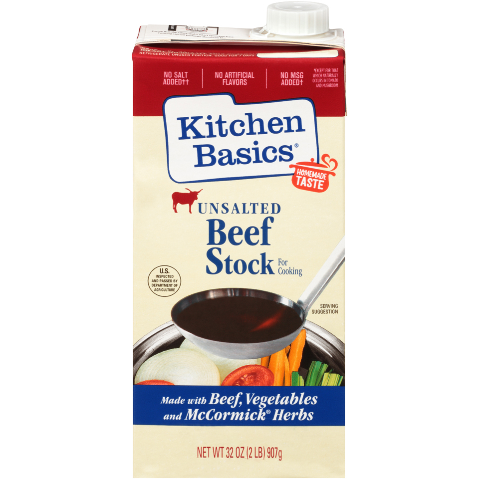 Kitchen Basics Beef Stock Unsalted