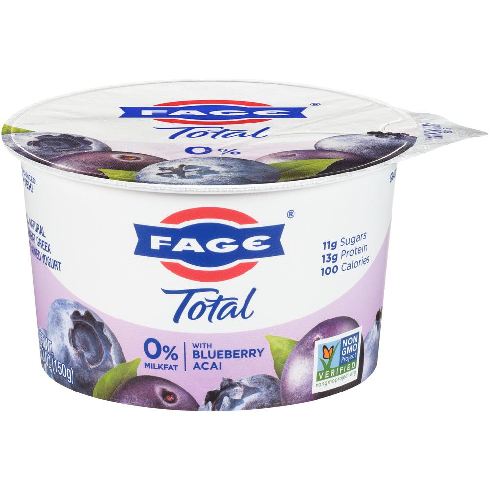 Fage 0% Blueberry-Acai Yogurt