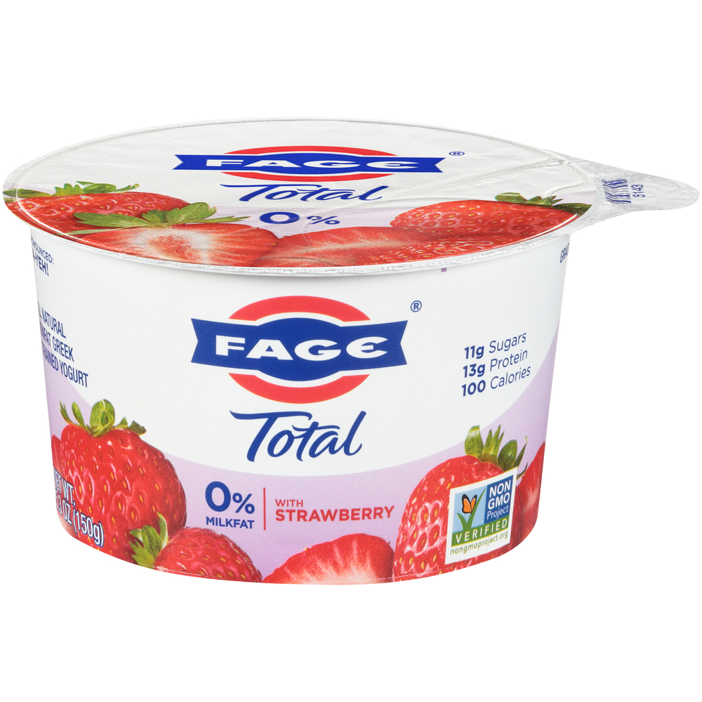 Fage Total 0% With Strawberry