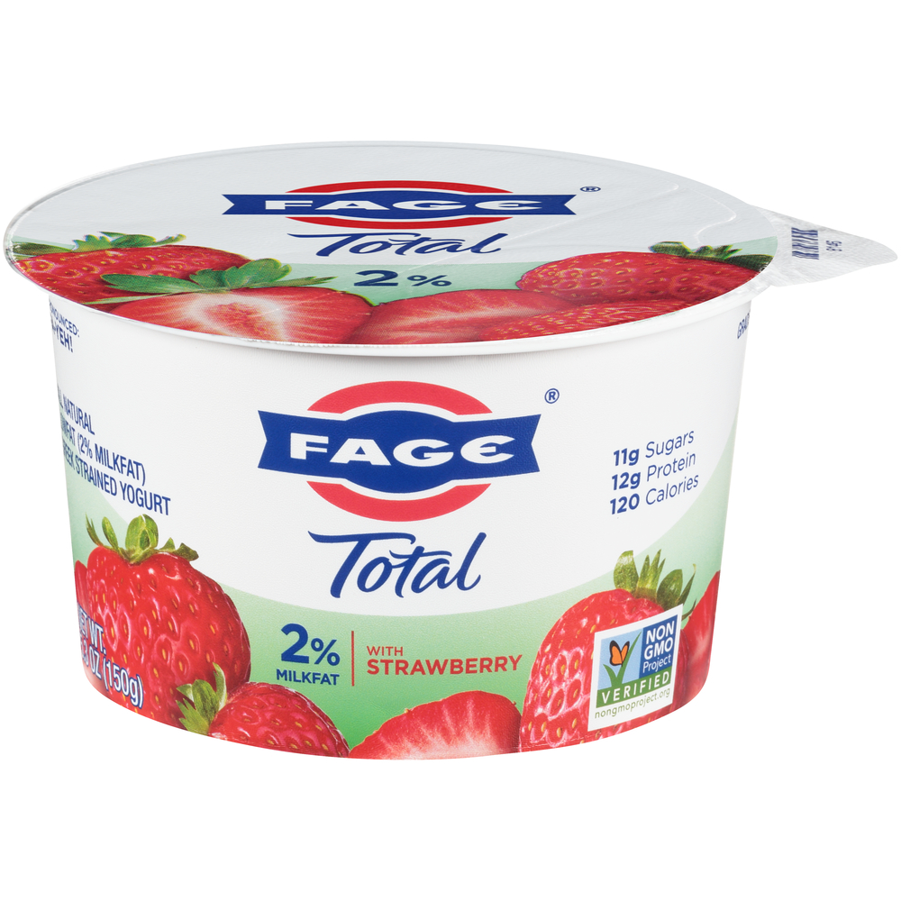 Fage Total 2% with Strawberry