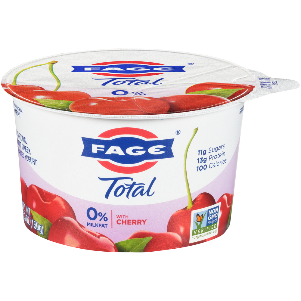 Fage With Cherry