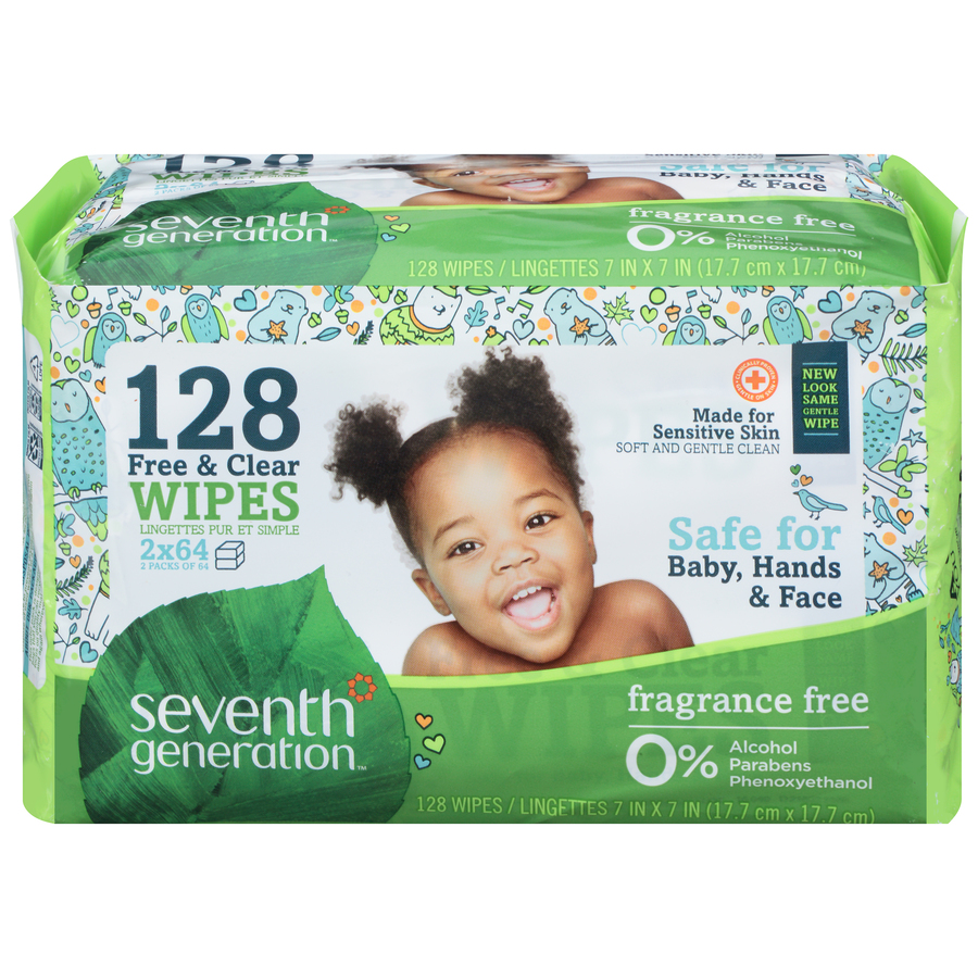 7th Generation Wipes Free & Clear