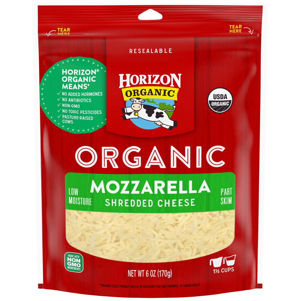 Horizon Organic Shreds Mozzarella