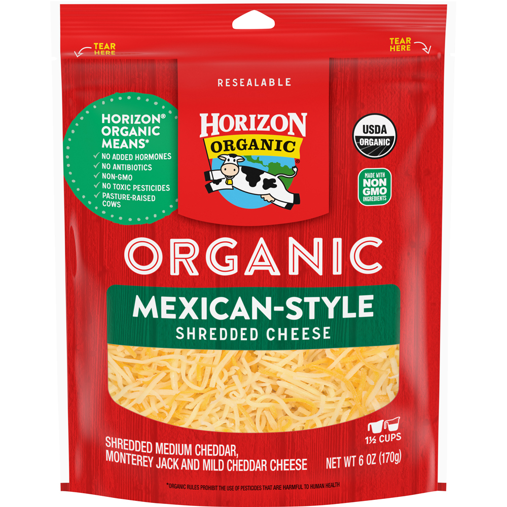 Horizon Organic Shreds Mexican Cheese