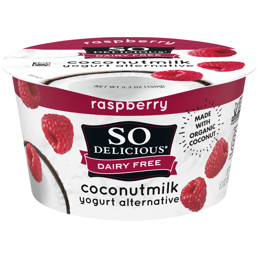 So Delicious Raspberry Coconut Milk Yogurt