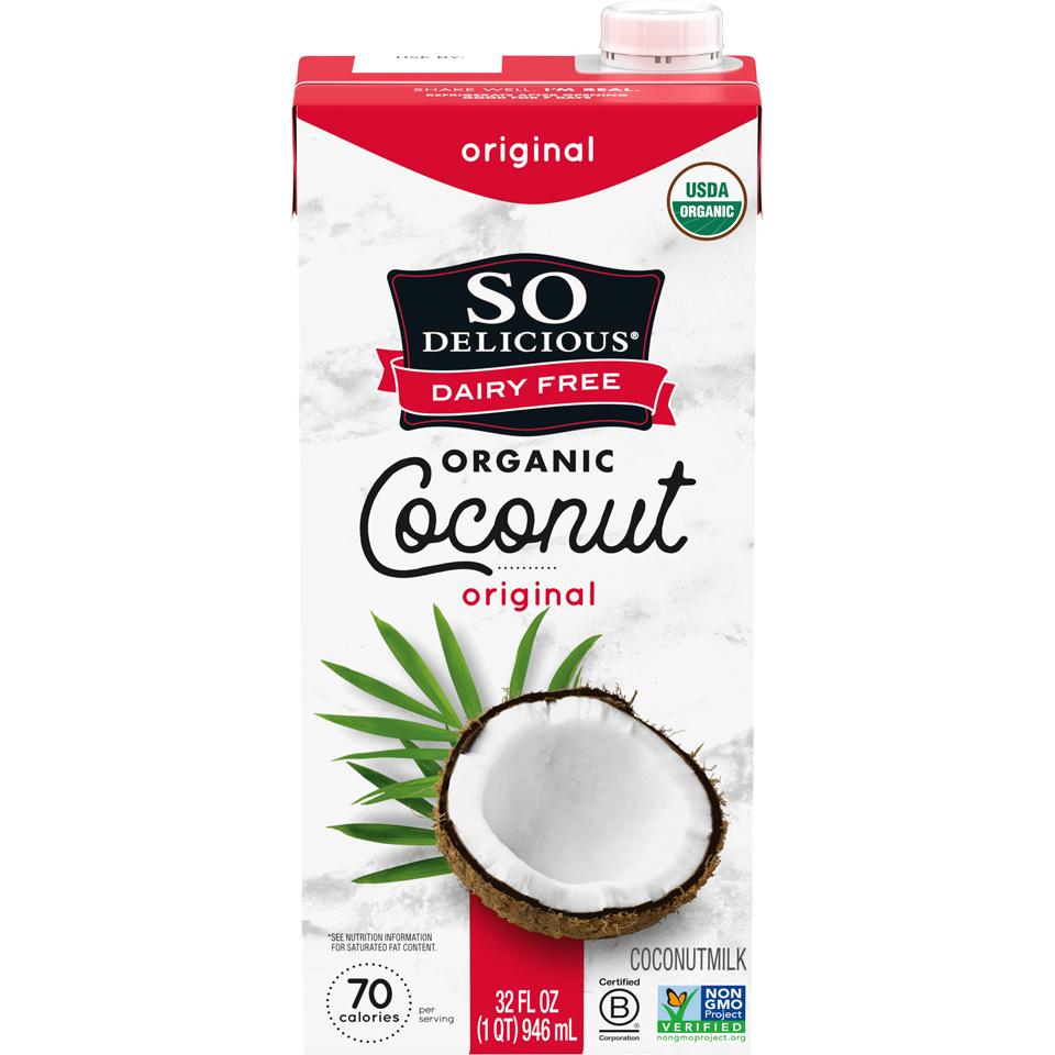 So Delicious Organic Orig Coconut Milk