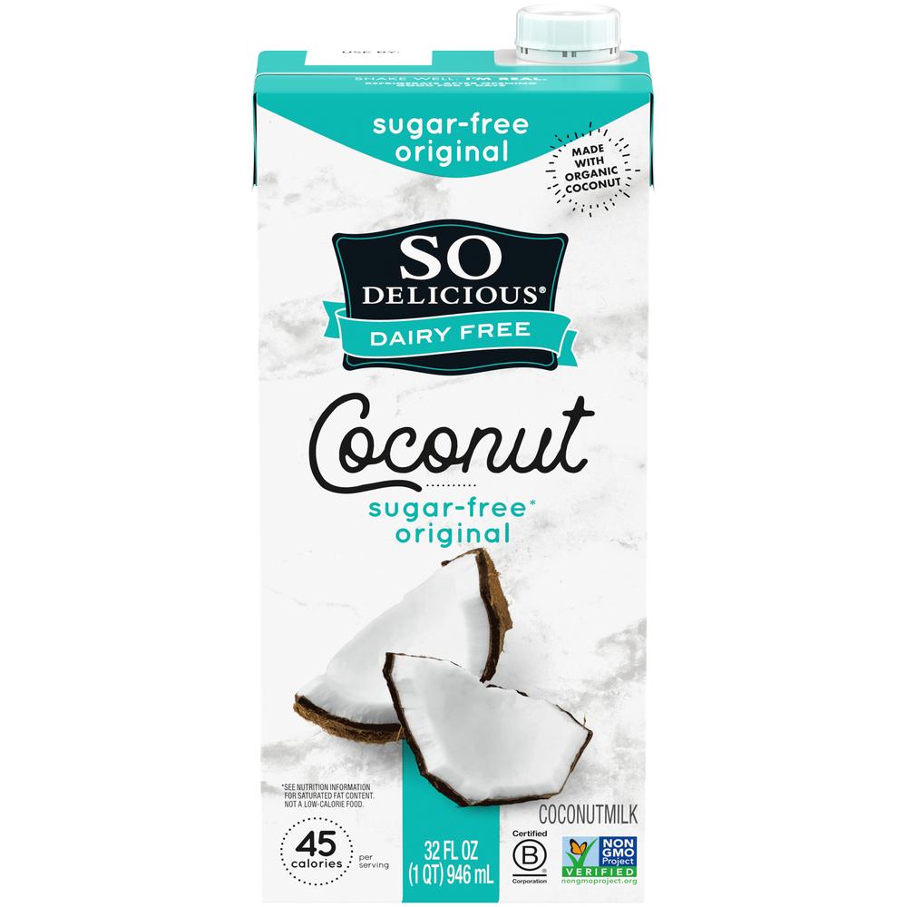 Sugar Free Coconut Milk