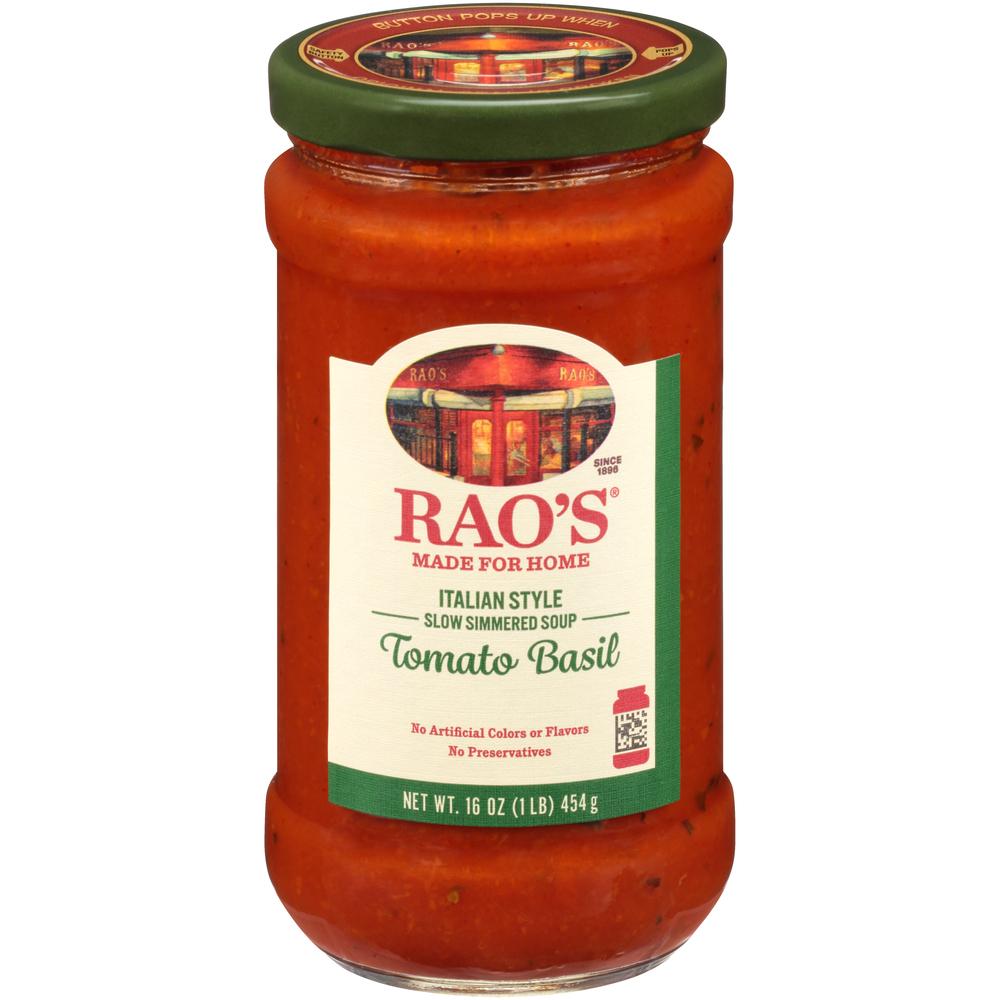 Rao's Soup Tomato Basil