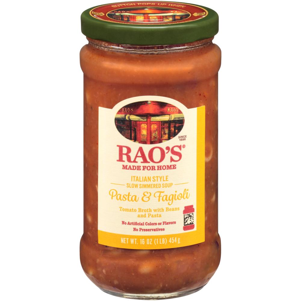 Rao's Pasta & Fagiolio Soup