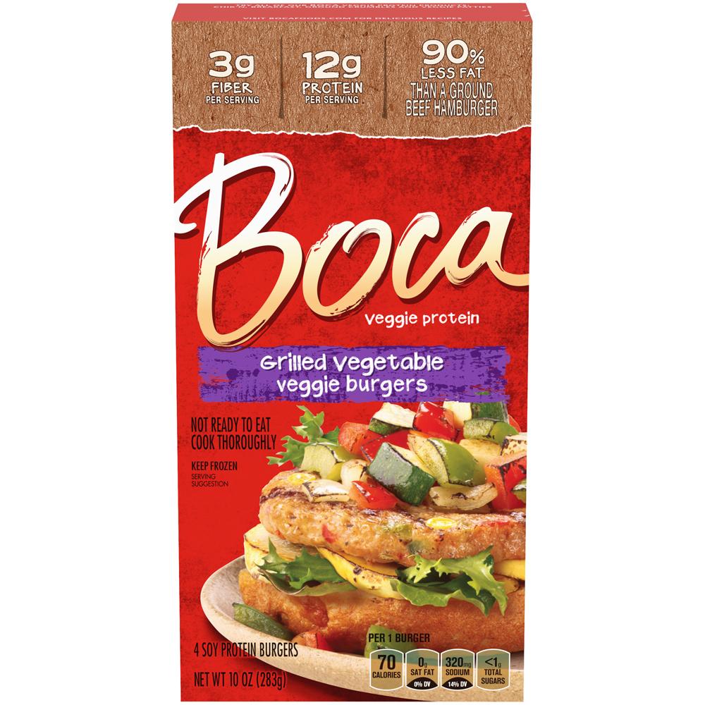 Boca Burger Grilled Vegetable