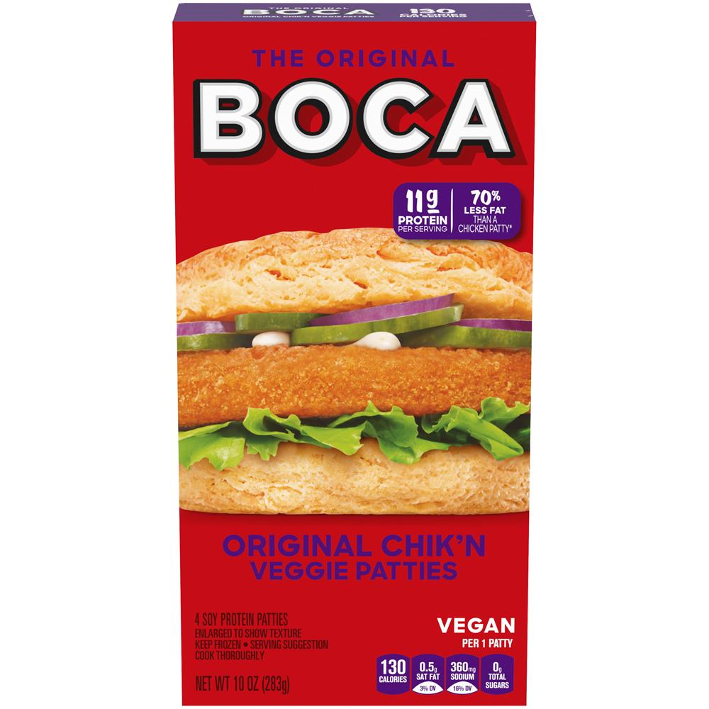 Boca Burger Vegan Chckn Patty