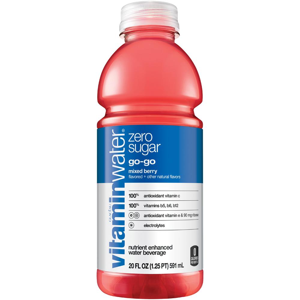 Vitamin Water Zero Sugar  Go Go Mixed Berry