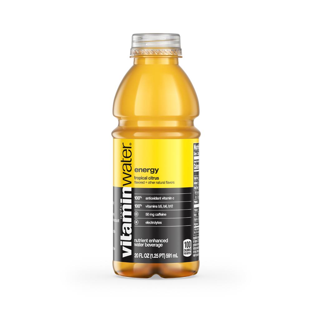 Vitamin Water Energy Tropical Citrus