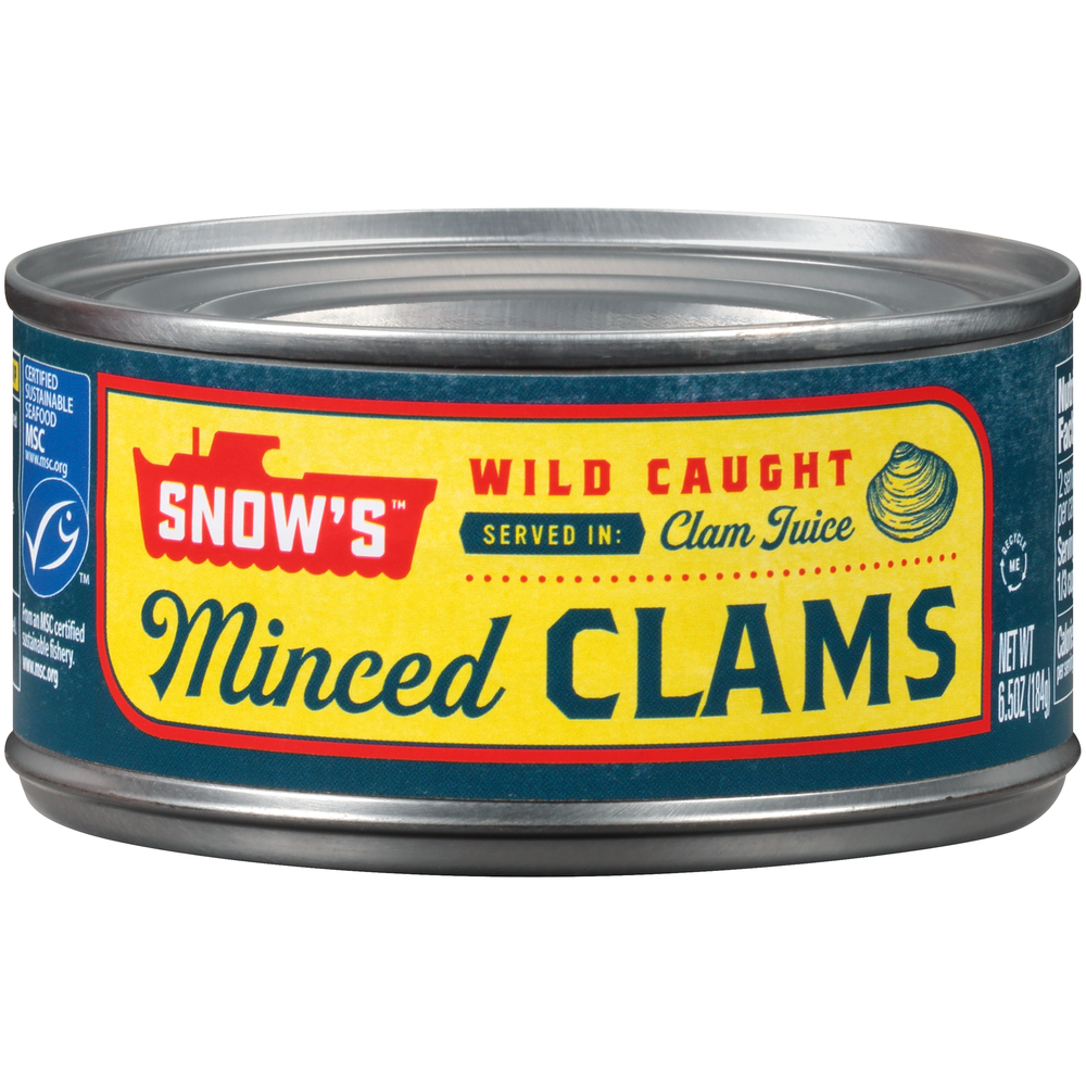 Snow Minced Clams