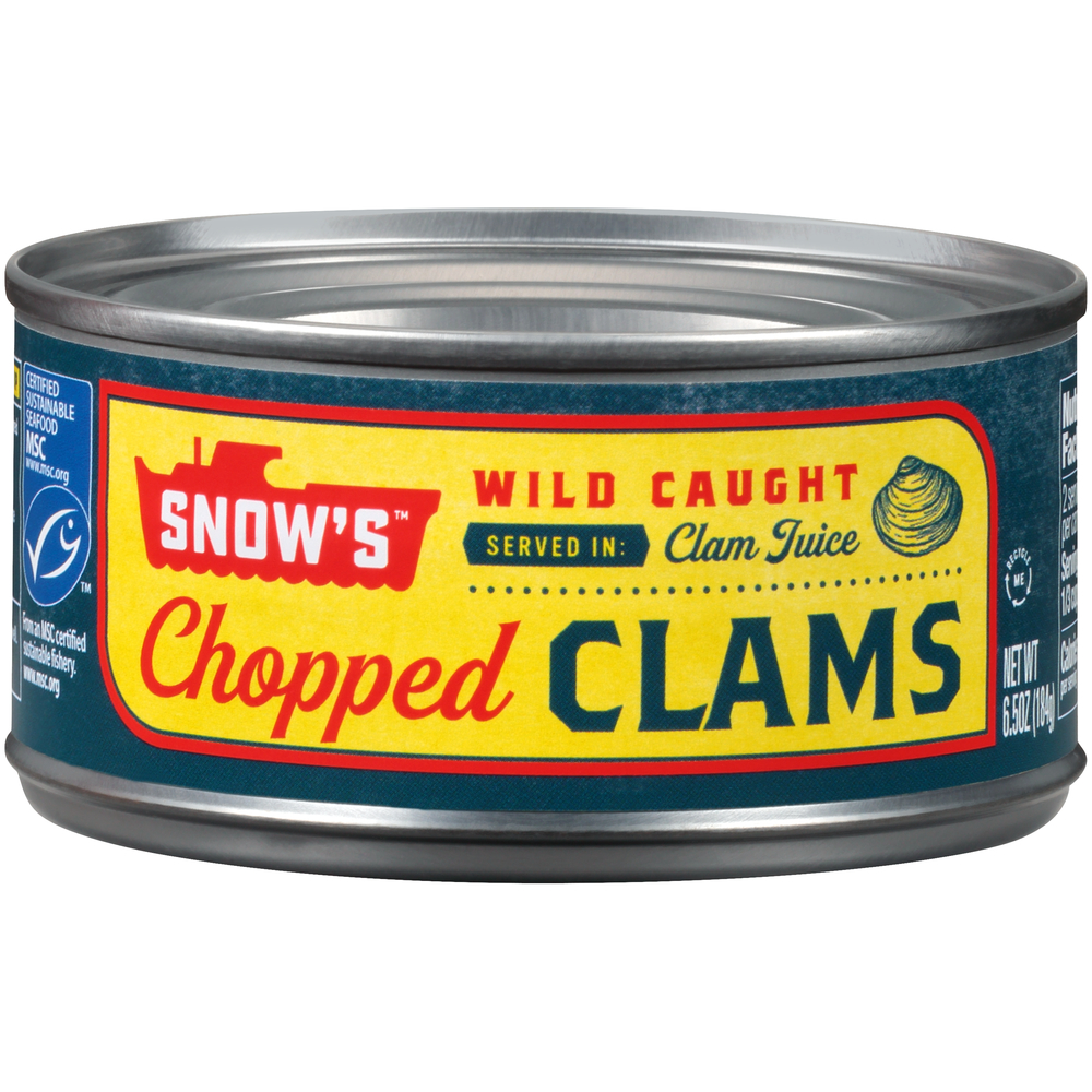 Snow Chopped Clams In Clam Juice