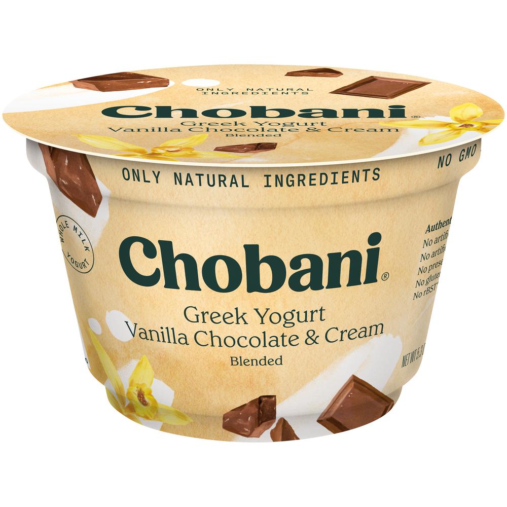 Chobani Greek Yogurt Van Choc