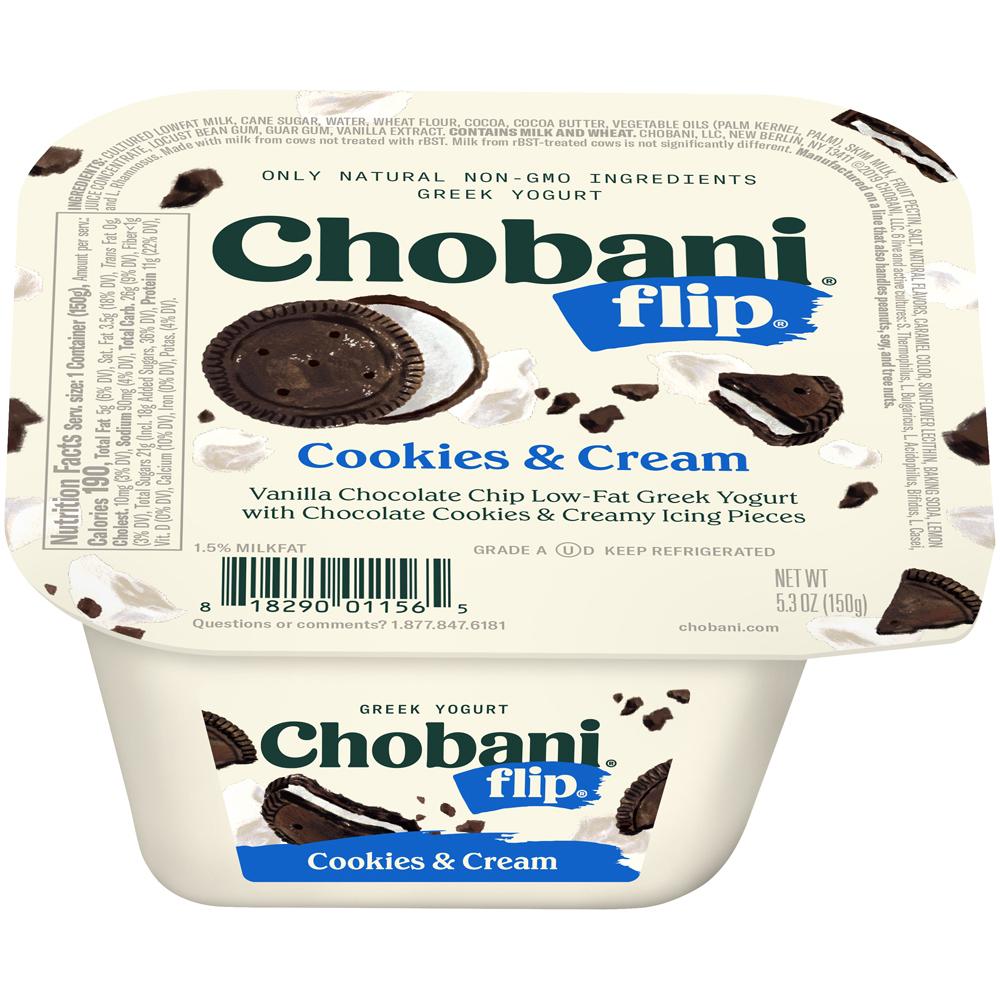 Chobani Flip Cookies & Cream