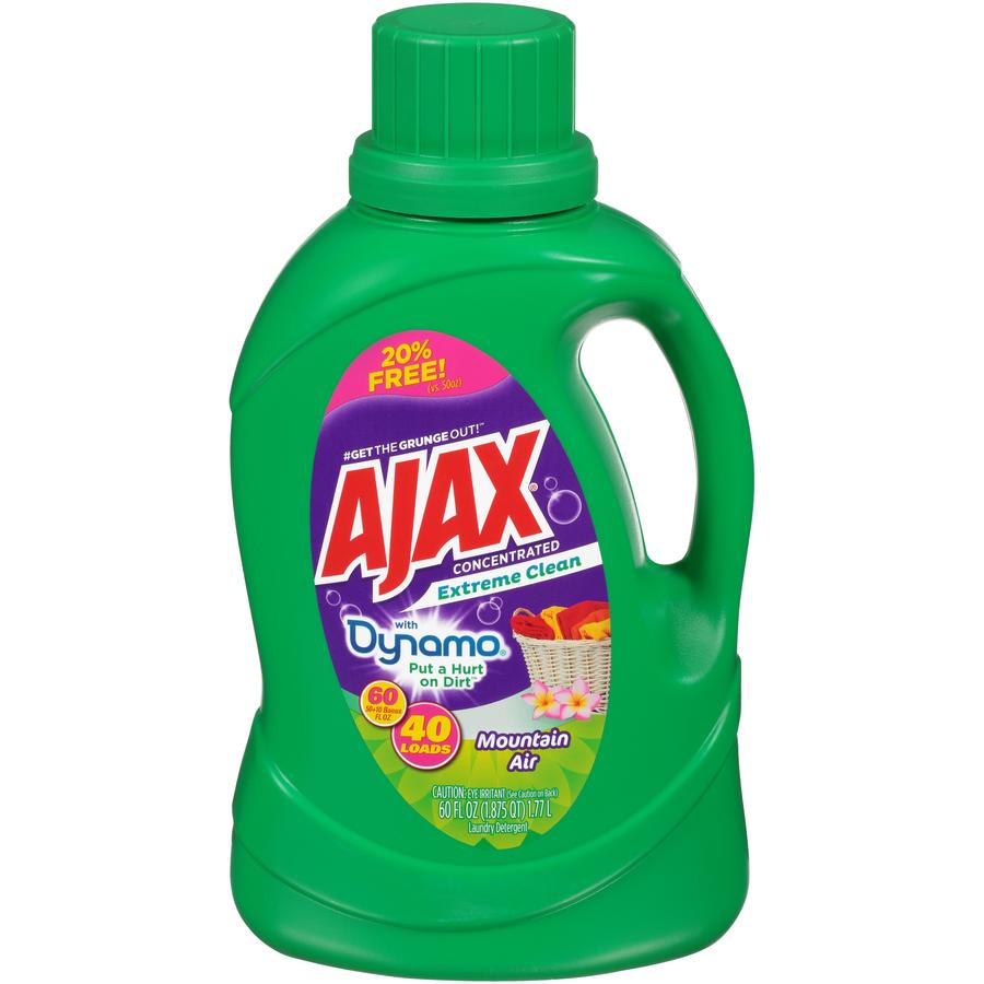Ajax 2X Laundry with Bleach