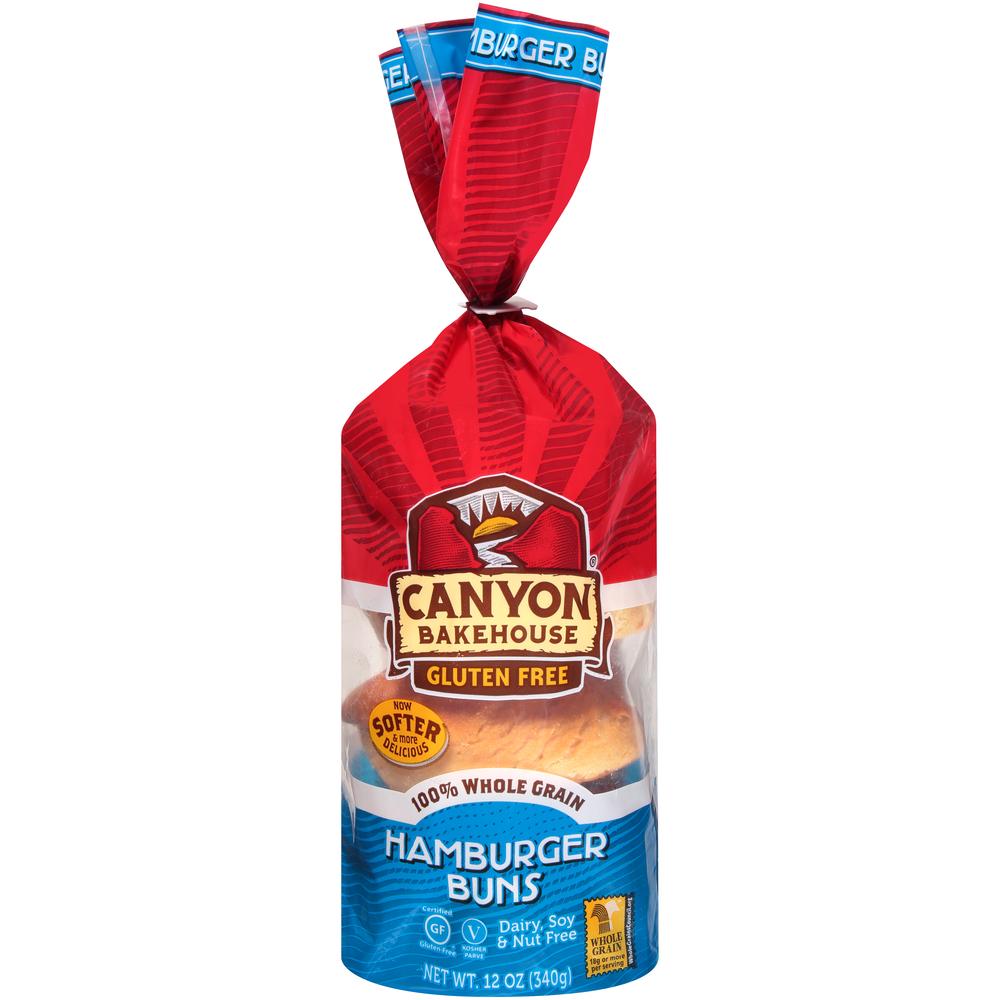 Canyon Bakehouse Gluten Free Hamburger Buns
